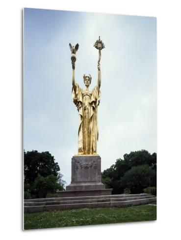 Republic Monument by Daniel Chester French--Metal Print