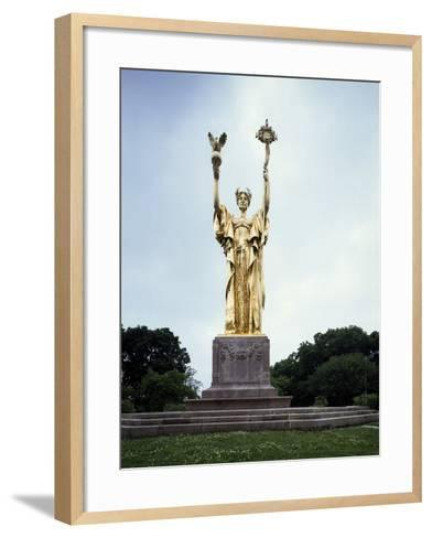 Republic Monument by Daniel Chester French--Framed Art Print