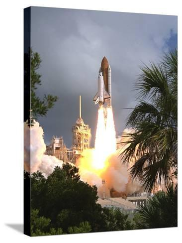 Space Shuttle Endeavour Launch Was the 57th Space Shuttle Mission, June 21,1993--Stretched Canvas Print