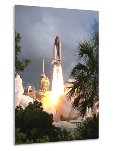 Space Shuttle Endeavour Launch Was the 57th Space Shuttle Mission, June 21,1993--Metal Print