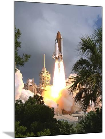 Space Shuttle Endeavour Launch Was the 57th Space Shuttle Mission, June 21,1993--Mounted Photo