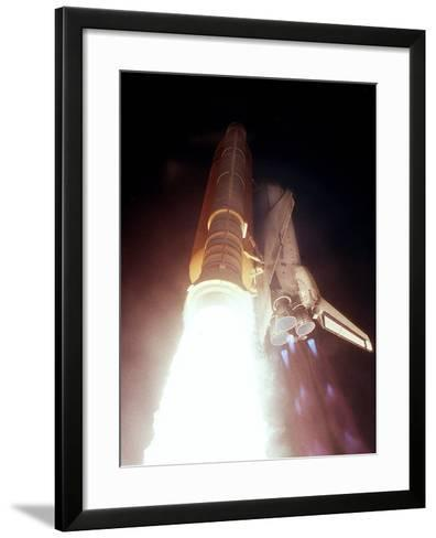 Launch of Endeavour, the 113th Space Shuttle Mission--Framed Art Print