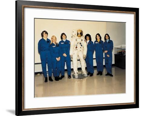 First Class of Female Astronauts Who Completed Training in 1979--Framed Art Print