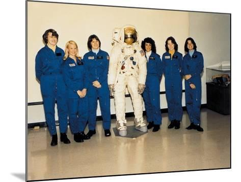 First Class of Female Astronauts Who Completed Training in 1979--Mounted Photo