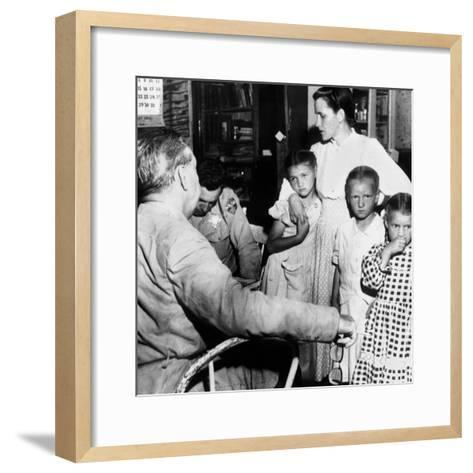 Mrs John Barlow Under Arrest--Framed Art Print