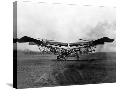 1923 'Helicopter' in Trials at McCook Field, Ohio--Stretched Canvas Print