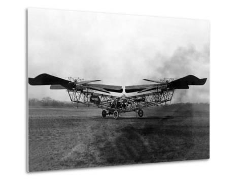 1923 'Helicopter' in Trials at McCook Field, Ohio--Metal Print