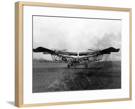 1923 'Helicopter' in Trials at McCook Field, Ohio--Framed Art Print