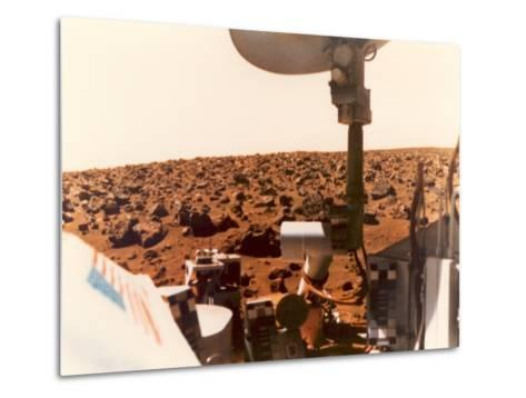 Viking 1 on the Martian Surface on July 24, 1976--Metal Print