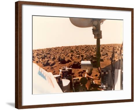 Viking 1 on the Martian Surface on July 24, 1976--Framed Art Print