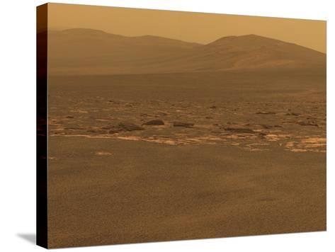 NASA's Mars Exploration Rover 'Opportunity' Recorded This Image on Aug 6, 2011--Stretched Canvas Print