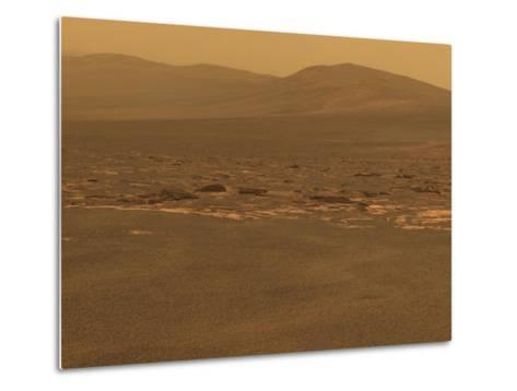 NASA's Mars Exploration Rover 'Opportunity' Recorded This Image on Aug 6, 2011--Metal Print