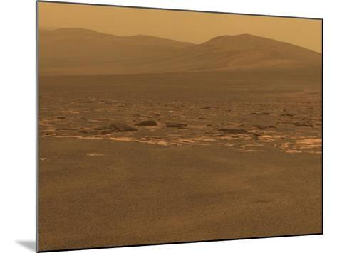 NASA's Mars Exploration Rover 'Opportunity' Recorded This Image on Aug 6, 2011--Mounted Photo