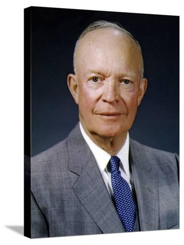President Dwight Eisenhower, May 29, 1959--Stretched Canvas Print