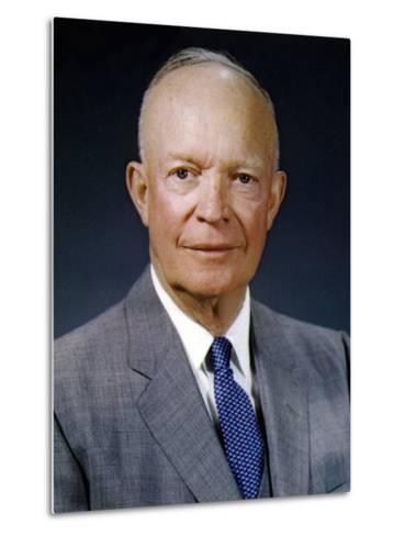 President Dwight Eisenhower, May 29, 1959--Metal Print