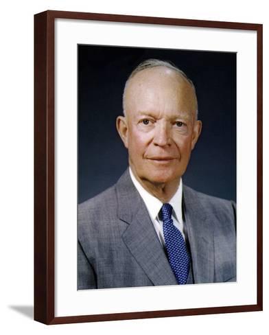 President Dwight Eisenhower, May 29, 1959--Framed Art Print