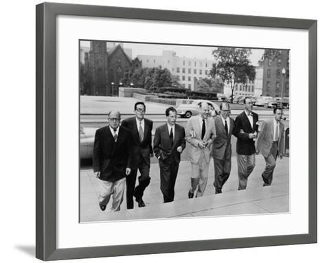 Hollywood Writers Go on Trial--Framed Art Print