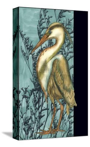 Heron in the Grass II-Jennifer Goldberger-Stretched Canvas Print