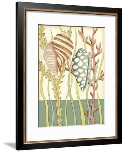 Shell Season II-Chariklia Zarris-Framed Art Print