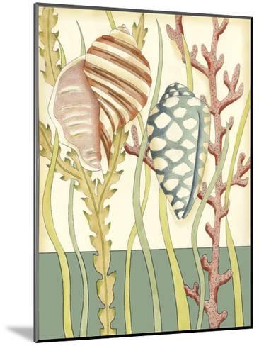 Shell Season II-Chariklia Zarris-Mounted Art Print