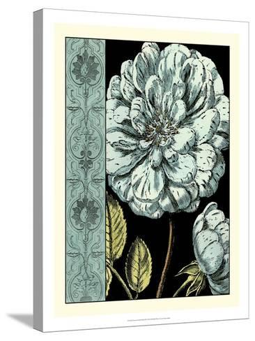 Nouveau Floral in Blue III-Vision Studio-Stretched Canvas Print