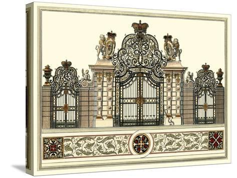 The Grand Garden Gate I-O^ Kleiner-Stretched Canvas Print