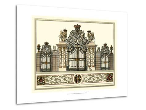 The Grand Garden Gate I-O^ Kleiner-Metal Print