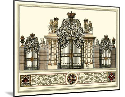 The Grand Garden Gate I-O^ Kleiner-Mounted Art Print