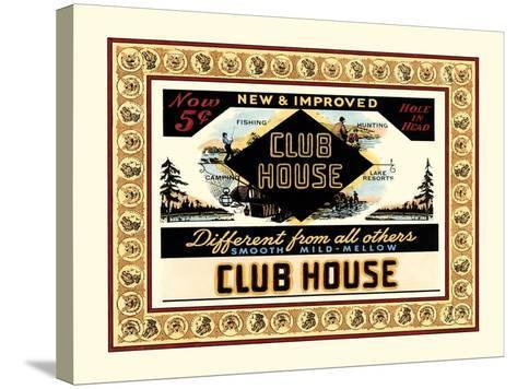 Clubhouse Cigars-Vision Studio-Stretched Canvas Print