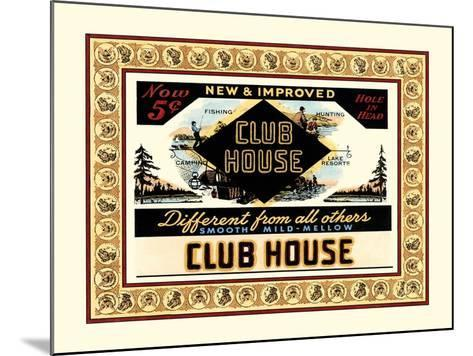Clubhouse Cigars-Vision Studio-Mounted Art Print
