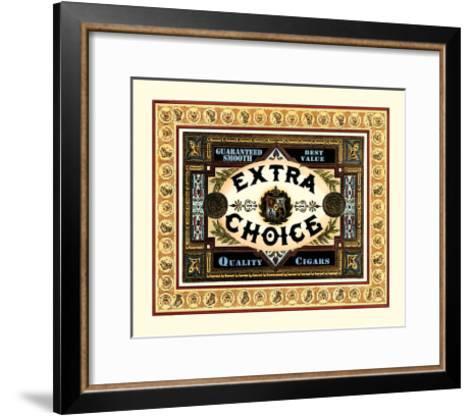 Extra Choice Cigars-Vision Studio-Framed Art Print