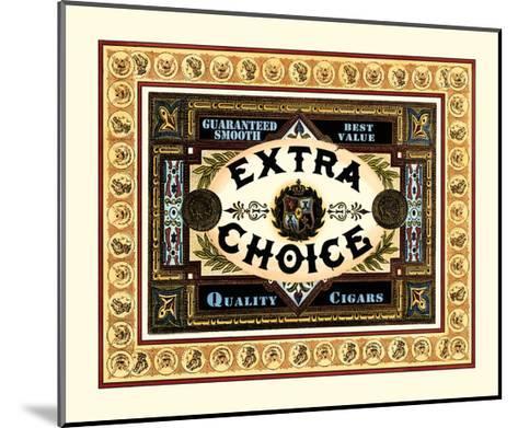 Extra Choice Cigars-Vision Studio-Mounted Art Print