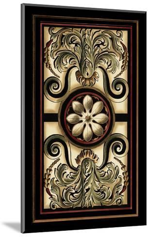 Panel Motifs I-Vision Studio-Mounted Art Print