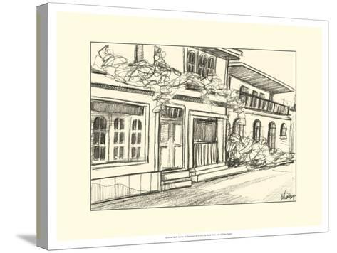 Sketches of Downtown III-Ethan Harper-Stretched Canvas Print