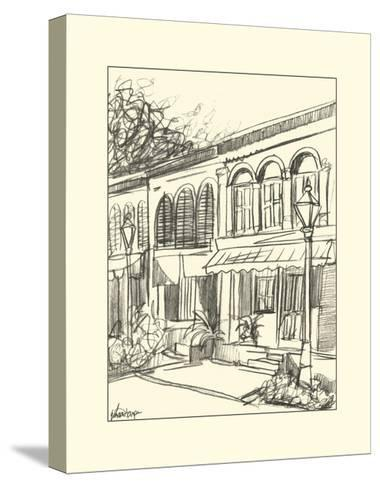 Sketches of Downtown V-Ethan Harper-Stretched Canvas Print