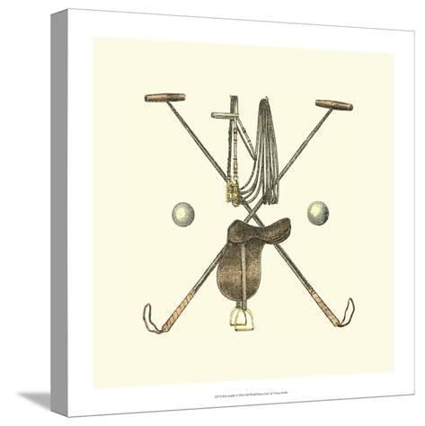 Polo Saddle-Vision Studio-Stretched Canvas Print
