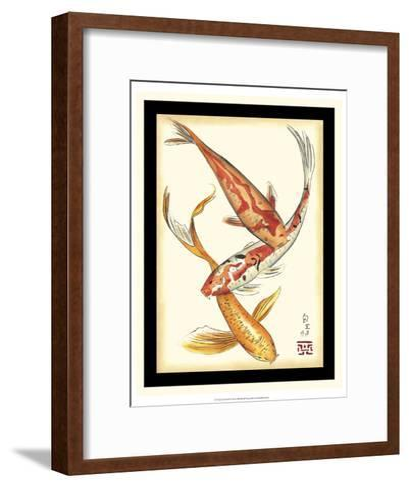 Koi Fish II-Chariklia Zarris-Framed Art Print