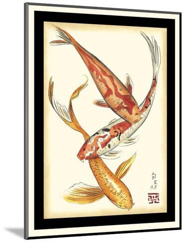Koi Fish II-Chariklia Zarris-Mounted Art Print