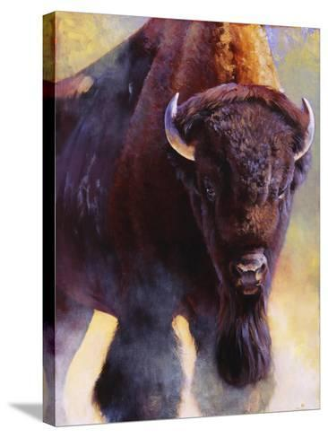 Warrior-Julie Chapman-Stretched Canvas Print