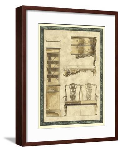 Chippendale Furniture I-Vision Studio-Framed Art Print