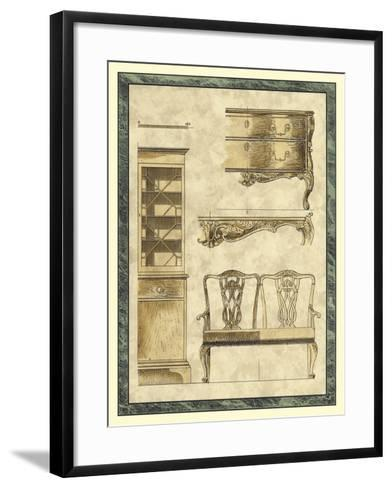 Chippendale Furniture I-Vision Studio-Framed Art Print