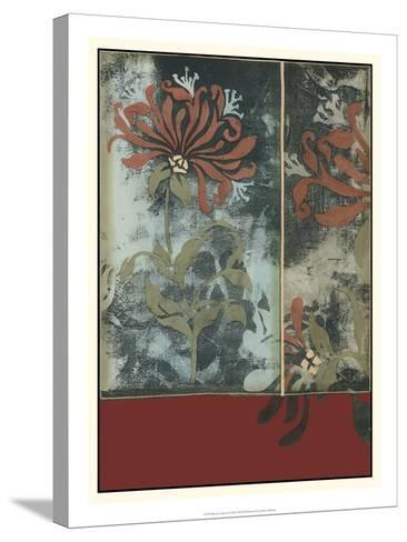 Silhouette Tapestry III-Jennifer Goldberger-Stretched Canvas Print