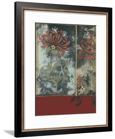 Silhouette Tapestry III-Jennifer Goldberger-Framed Art Print