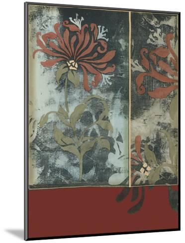 Silhouette Tapestry III-Jennifer Goldberger-Mounted Art Print