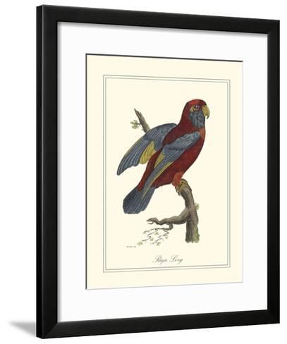 Raja Lory-George Edwards-Framed Art Print