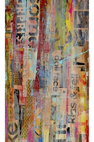 Metro Mix II-Erin Ashley-Stretched Canvas Print