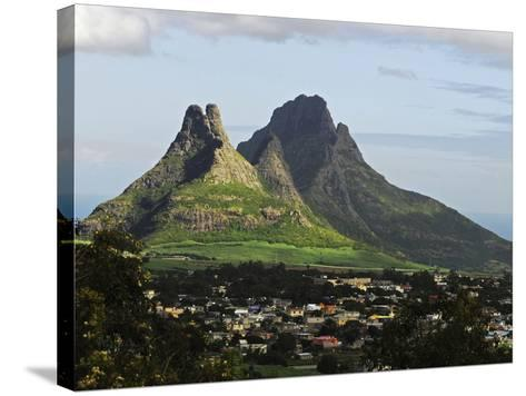 Houses, Floreal, Mauritius-Anthony Asael-Stretched Canvas Print