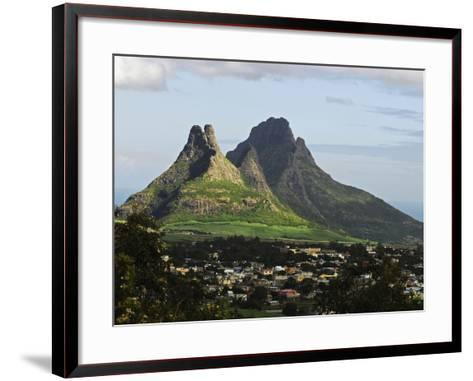Houses, Floreal, Mauritius-Anthony Asael-Framed Art Print