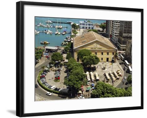 Marina, Salvador, Bahia, Brazil-Anthony Asael-Framed Art Print