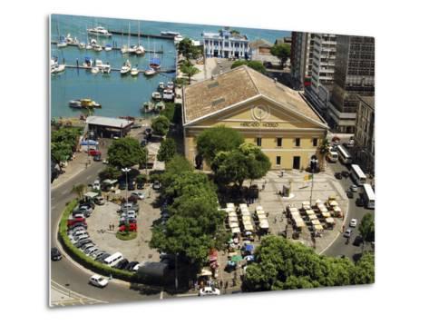 Marina, Salvador, Bahia, Brazil-Anthony Asael-Metal Print